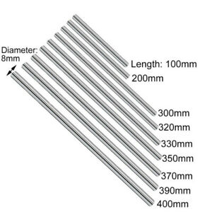 Linear-Rail-Shaft-8mm-For-3D-Printer-Axis-Smooth-Rod-High-Quality-Carbon-Steel