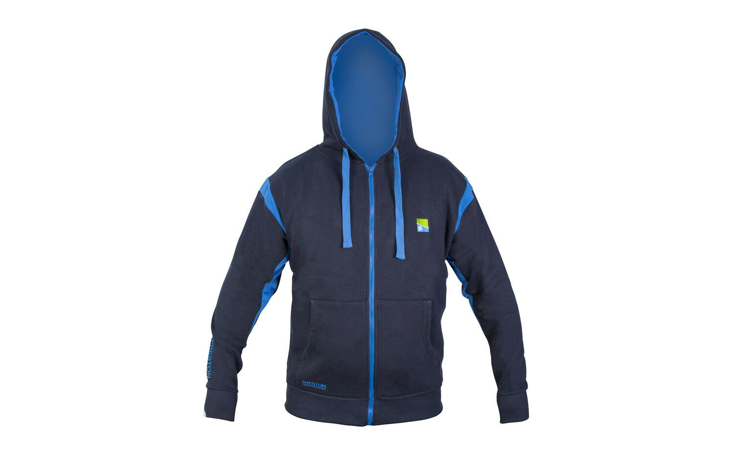 Preston Navy bluee Zip Front Hoody All Sizes NEW Coarse Fishing Hoody