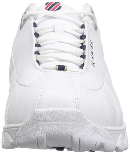WIDE Extra Man K-Swiss ST329 CMF Training 03426-130-XW Color White//Navy//Red New