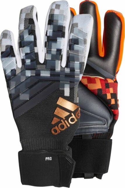 Adidas Predator Pro Telstar World Cup Soccer Gloves Sz 10 Red-Black-Gold  CW5609