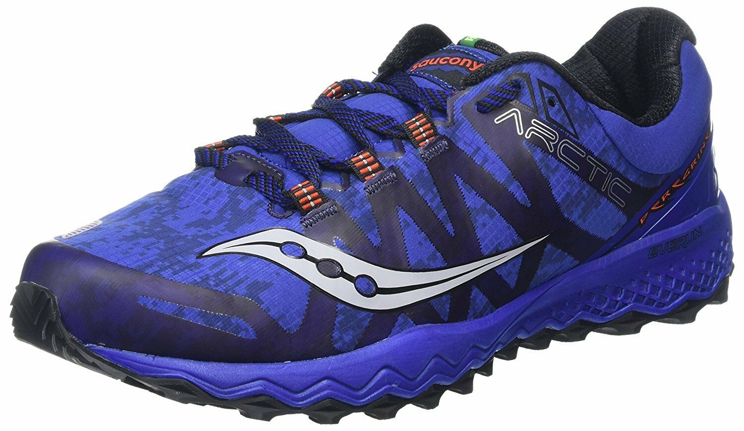 Saucony Mens Peregrine 7 Ice+ Running shoes, bluee, 12 Medium US