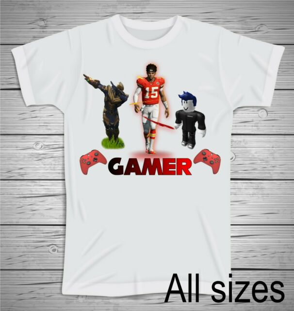 All Sizes Xbox Gamer T Shirt Xbox Madden Fortnite Roblox T Shirt