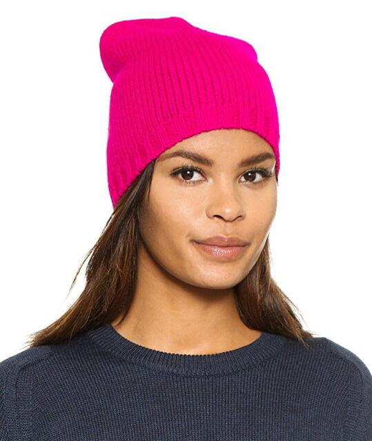 NWT Kate Spade New York Women s Gathered Bow Beanie Hat Cap Sweetheart Pink   48 214ddba943a