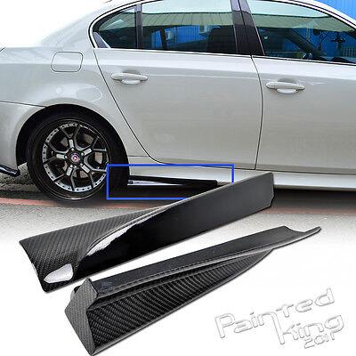 Carbon Fiber BMW E60 M5 Model SEDAN SIDE SKIRT BODY KIT RIGHT AND LEFT