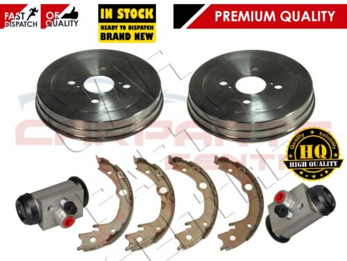 FOR TOYOTA YARIS 2 REAR BRAKE DRUMS SHOE SHOES WHEEL CYLINDERS VNK FRENCH BUILT
