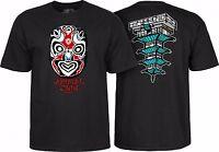 Powell Peralta Chin Mask Skateboard Shirt Black Large