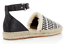 9 Espadrilles M New Strap Black Vicky Ankle Minkoff Flats Leather Rebecca White nqZTv