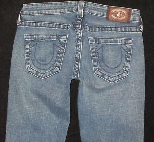 Kleidung & Accessoires Niedrigerer Preis Mit 7 Für Alle Bootcut Jeans Damen Sz 28 Mit Stretch Distressed Wash
