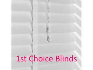 Details About Made To Measure 50mm Delux Sunwood Gloss White Wooden Venetian Blinds With Tape