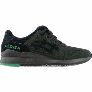 Asics-H7LSQ-8490-Gel-Lyte-III-Green-Black-Men-039-s-Sneakers