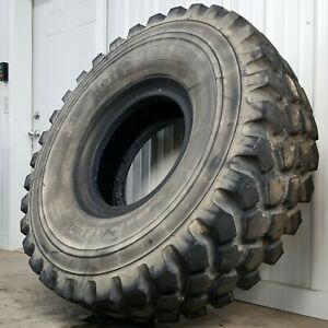 Michelin Off Road Tires >> Details About Michelin Xzl 16 00 R20 Off Road 22 Ply 6x6 Mud Truck Tires 70 80 Tread B Grade