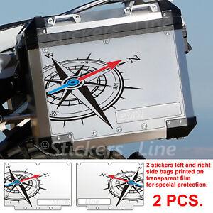 Adesivi-BMW-BUSSOLA-valigie-borse-R1200GS-adventure-rosa-dei-venti-bags-stickers