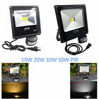 Security flood light 10W-50W daylight flood light led motion sensor flood light
