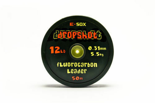 DRENNAN E-sox dropshot fluorocarbone chef bobine 50m