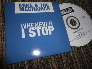 MIKE&THE MECHANICS WHENEVER I STOP CD SINGLE 1999 PROMO - España - MIKE&THE MECHANICS WHENEVER I STOP CD SINGLE 1999 PROMO - España