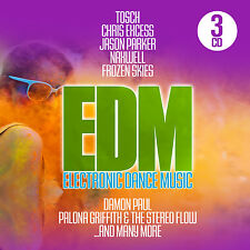 CD EdmElectronic Dance Music von Various Artists  3CDs