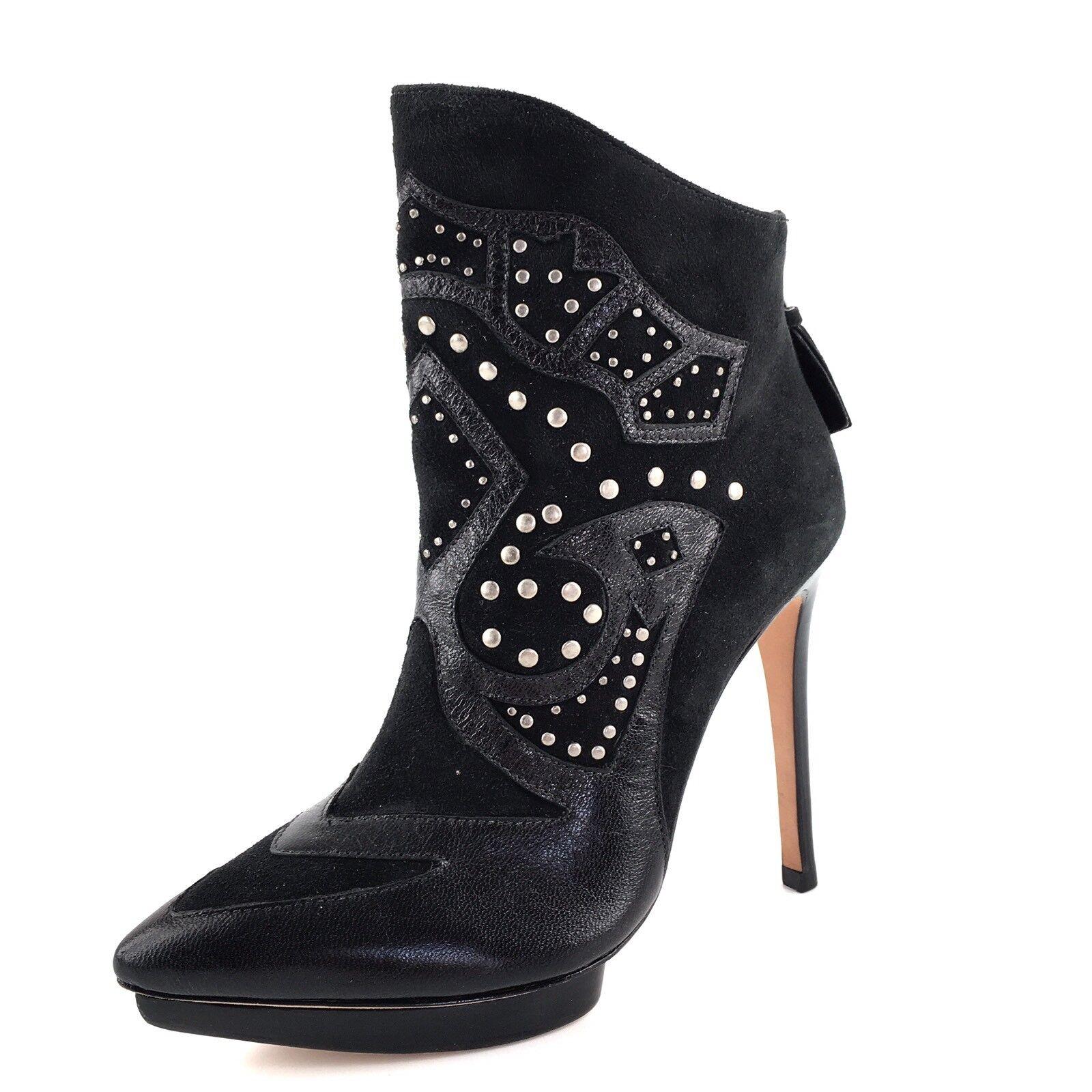 scelte con prezzo basso Alice & Olivia By Stacey Bendet nero Suede Suede Suede Ankle stivali Donna  Dimensione 35.5 M  Sconto del 70% a buon mercato