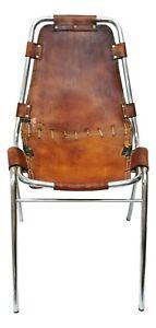 sedia les arcs design charlotte perriand anni 60 prima serie - chair vintage 60s