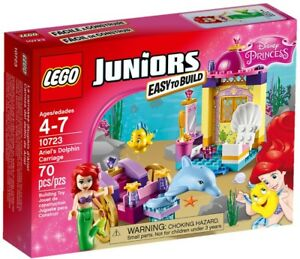 LEGO-10723-JUNIORS-DISNEY-PRINCESS-ARIEL-039-S-DOLPHIN-CARRIAGE-Retired-Sealed