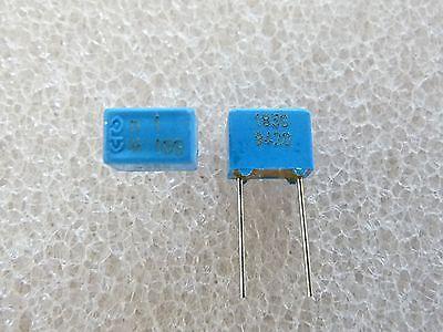 10 pezzi Condensatore Polipropilene 330pF 100V 5/%  ERO ROEDERSTEIN KP1830 5mm