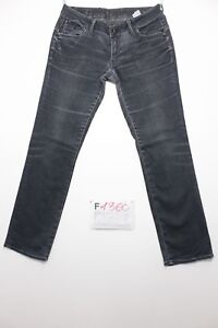 g-Star-corvet-straight-schwarz-Cod-F1360-Groesse-46-W32-L32-Jeans-gebraucht
