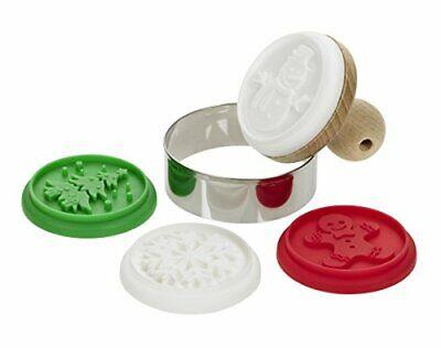 Kunststoff Mehrfarbig 6 x 6... Lurch Keksstempel Set Homemade Cookies 6-teilig