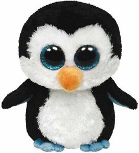Ty-Beanie-Boos-Waddles-Penguin-16-034-Plush-Large