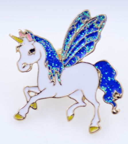 Esmalte Volando Little Pony//caballo//Unicornio Broche//Pin múltiples opciones