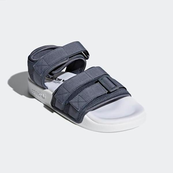 neue adidas originals frauen adilette sandale cq2672 grau / weiß 10 uns w 5 - 10 weiß takse 802cd7