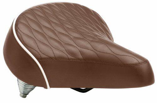 Brown Schwinn Quilted Springer Cruiser Saddle Seat