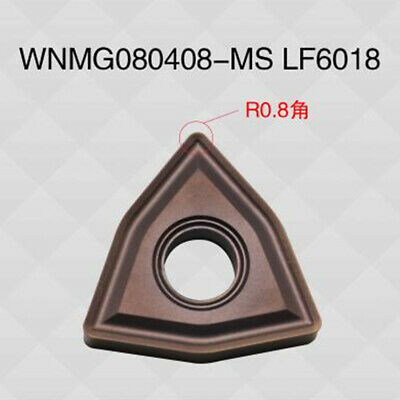 Details about  /10Pcs DESKAR WNMG080408-MS Carbide insert For Stainless steel Replace MITSUBISHI