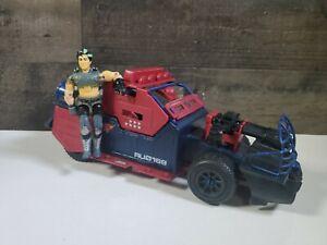 VINTAGE-1986-GI-Joe-Cobra-Dreadnok-Car-Thunder-Machine-w-Thrasher-Figure