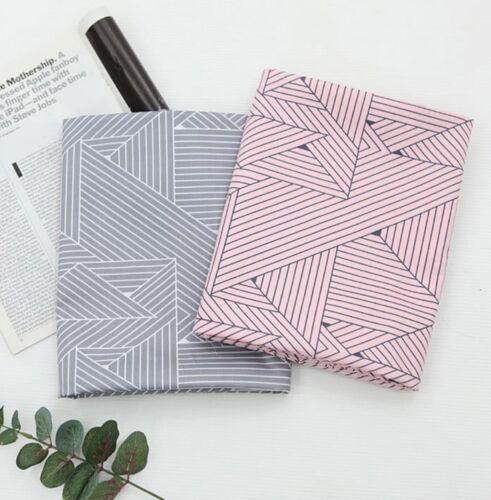 Líneas de estilo moderno 100/% tela de sarga de algodón años 40 por la yarda//rayas JC10//58 =