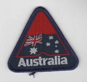 1980s-AUSTRALIA-PATCH-Vintage-FLAG-Australian-CANBERRA-Sydney-MELBOURNE-Perth