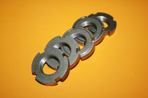 M22 x 1,5 DIN 1804 Stahl blank Wellenmutter 5 Stück  Nutmutter