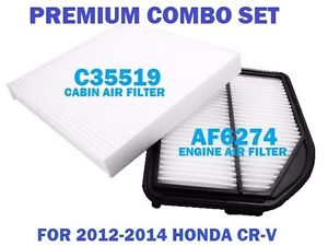 AF5780 C35519 PREMIUM COMBO AIR FILTER /& CABIN FILTER for 2007-2009 HONDA CRV