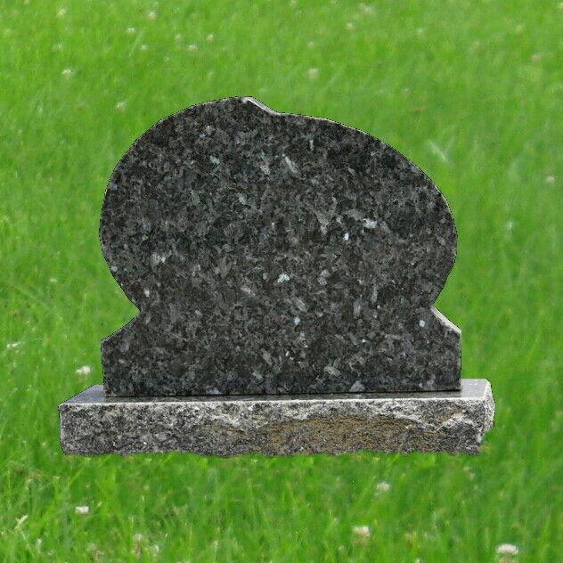 Headstone Pet Mini Blue Pearl Memorial Grave Granite Marker Cemetery Stone Mn 82