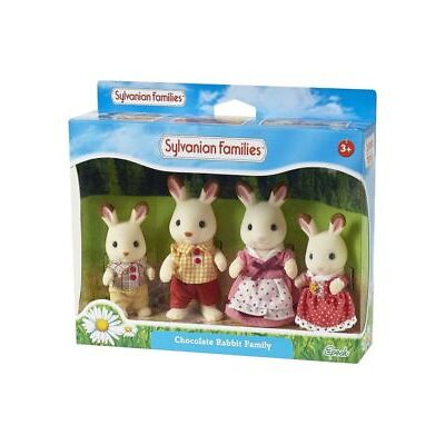 NEW Sylvanian Families Chocolate Rabbit Family