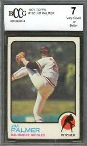 Jim-Palmer-Card-1973-Topps-160-Baltimore-Orioles-BGS-BCCG-7