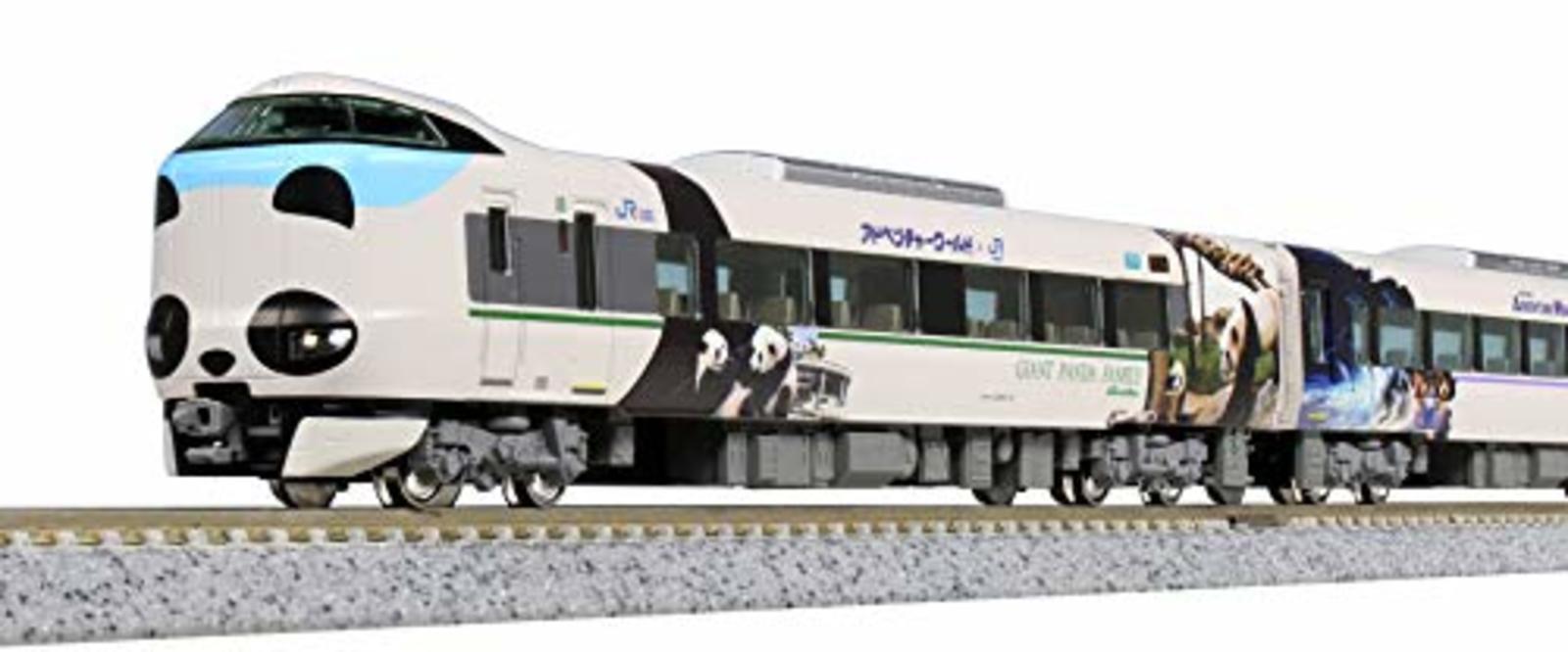 Kato N Scale 287 serie Panda kurooshi sonrisa aventura tren 10-1506 Set 6-Car