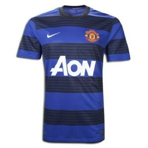 on sale 341df 95622 Details about Nike Manchester United Away Football Shirt Womens Medium Man  United Chicharito