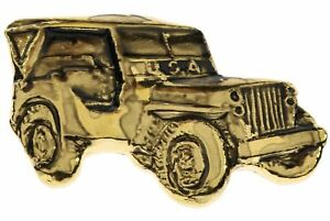 Miniature-Replica-Military-US-Army-Jeep-M38-Willys-Hat-or-Lapel-Pin-H5751-D69
