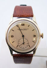 Vintage 14k Gold IWC SHAFFHAUSEN Winding Watch c.1950s Cal.83* EXLNT* SERVICED