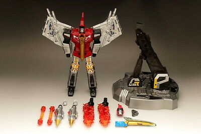 Transformers TOY GP HQ-05R Alloy Plating Gaudenter G1 Swoop Red Chorme will come