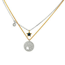 Swarovski Crystal Wishes Star Pendant Set - Blue