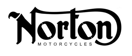 high detail airbrush stencil old norton logo  FREE UK POSTAGE