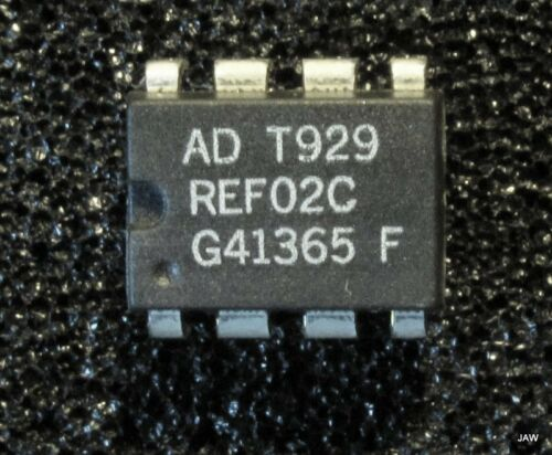 SENSOR 8 PIN DIP FROM ANALOG DEVICES. REF02CP VOLTAGE REFERENCE // TEMP 10 PCS