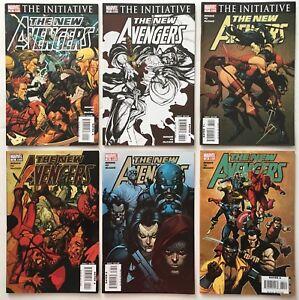 New-Avengers-s-29-30-31-32-33-34-Run-Lot-of-6-Marvel-Comics-2007-Ronin-App