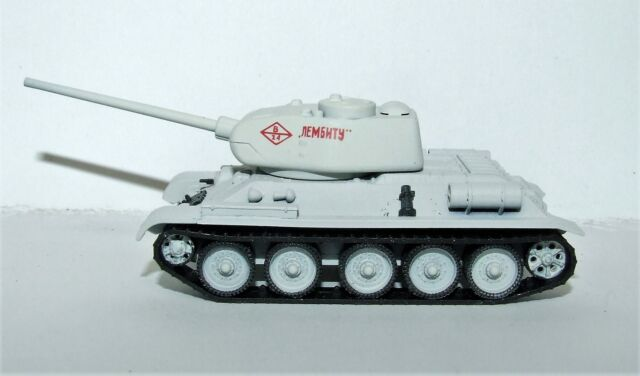 Herpa Militaire 745796 Combat T-34/85 Camouflage D'Hiver 1:87