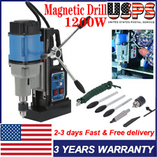 Magnetic Drill Press Torque Electric Power Tool Mt3 Spindle 1100w 12000n 550rpm